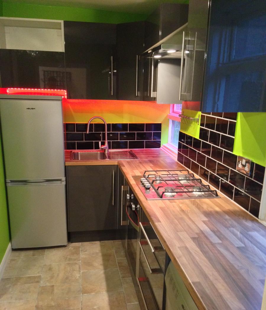 kitchen colour schemes london
