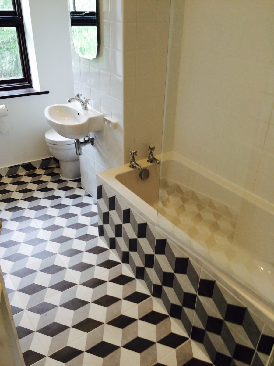 Bathroom 3d tiles