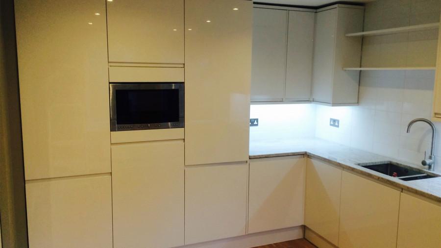 Kitchen refurbishment project