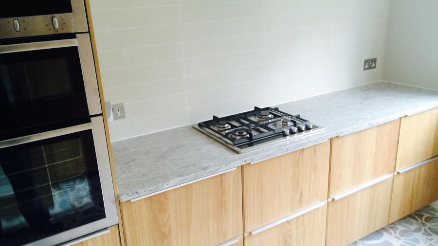modern kitchen in north london
