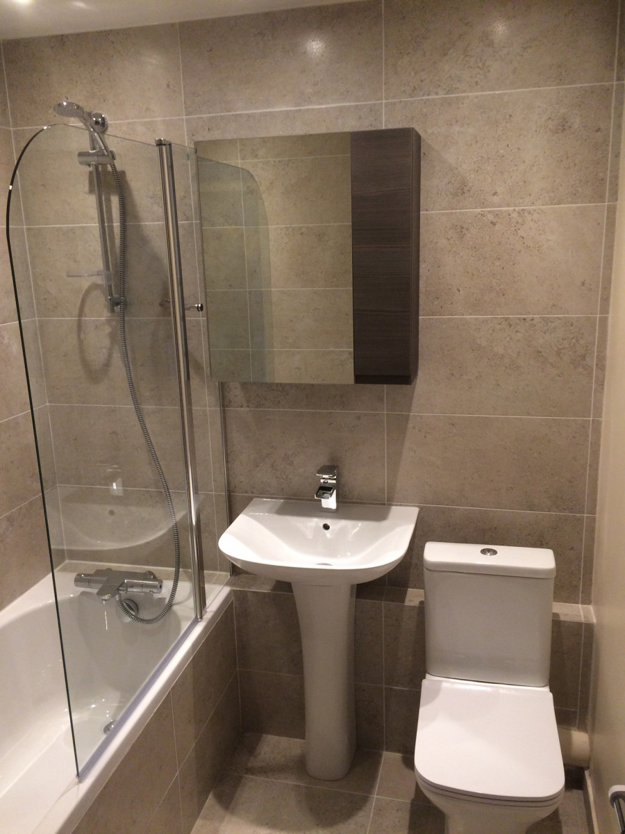 London bathroom refurbishment