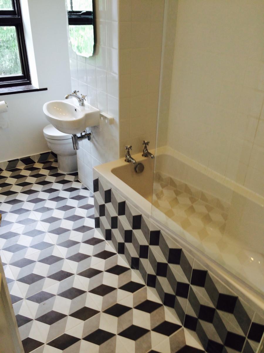 Bathroom 3d tiles | Build My Space - the premier building ...